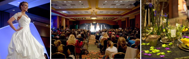 Fashion Shows and Tablescapes in the Seville Ballroom at The Tulsa Wedding Show