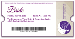 Ticket to The Tulsa Wedding Show